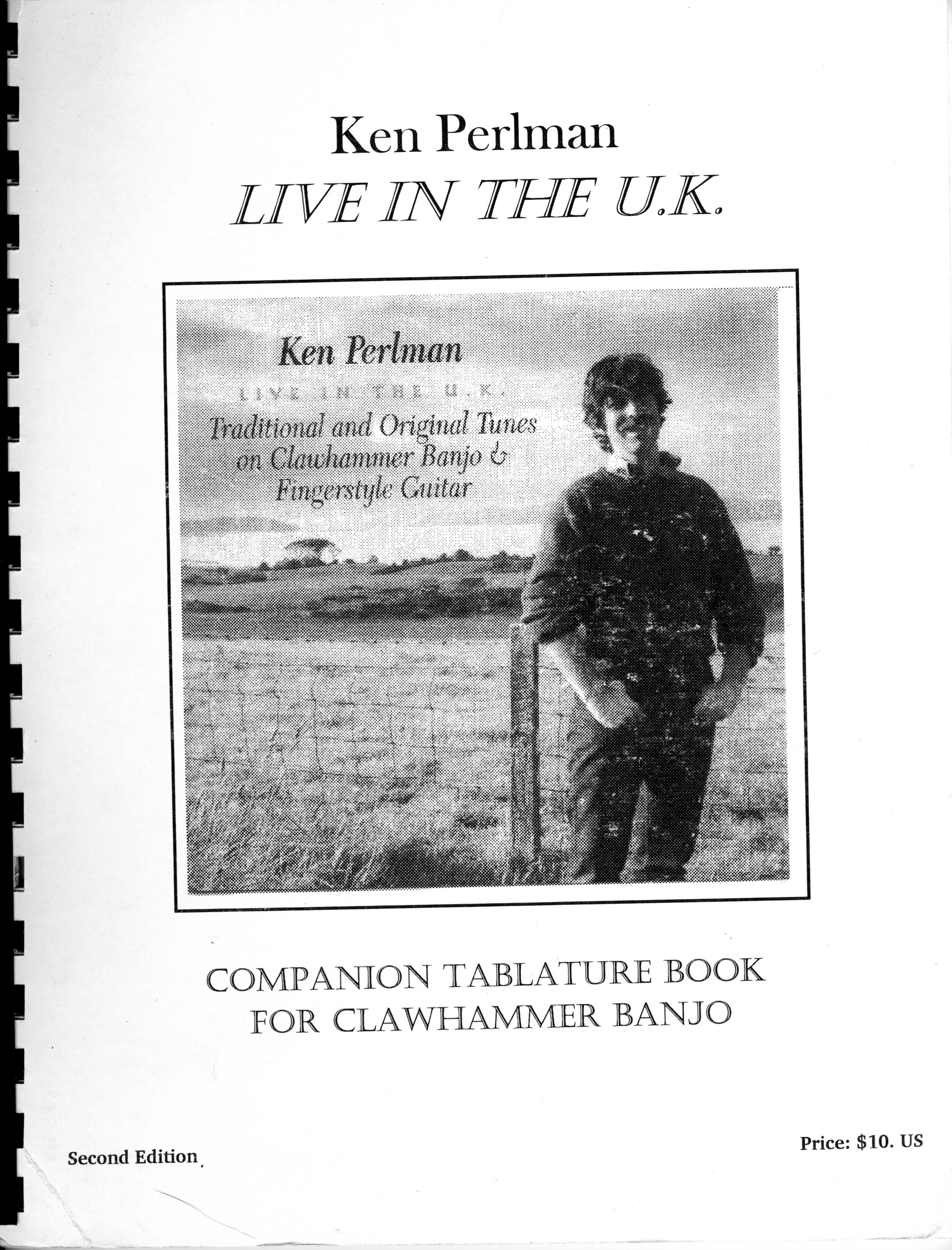 Live In The UK Tab Book
